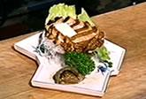 あわびのステーキ