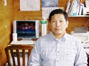 伊勢海老、あわび、さざえの専門店 臼竹商店の二代目店主です。